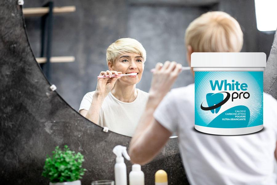 white pro polvere sbiancante